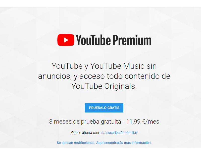 YouTube Music y Youtube Premium
