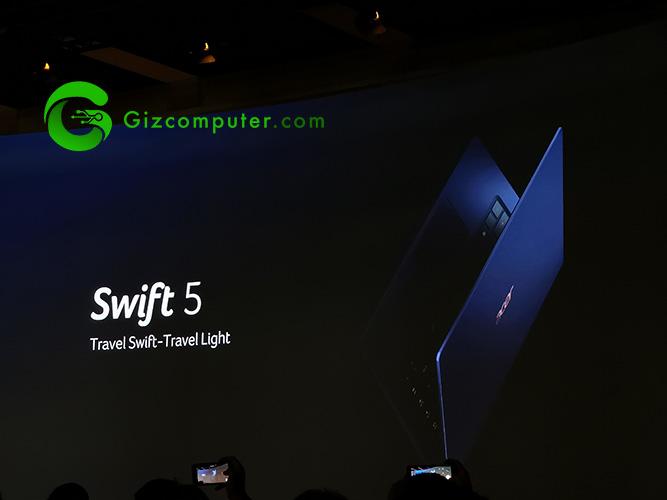 #IFA18 Acer Swift 5