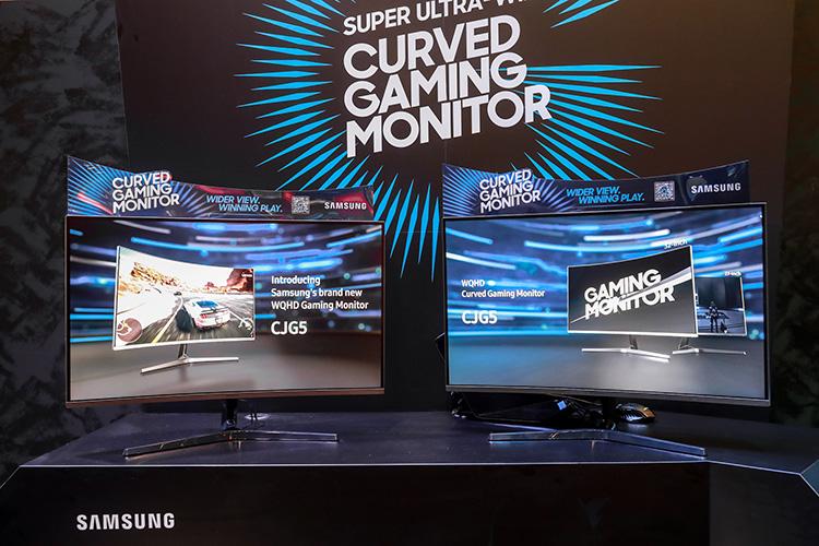Samsung C27JG5 y C32JG5