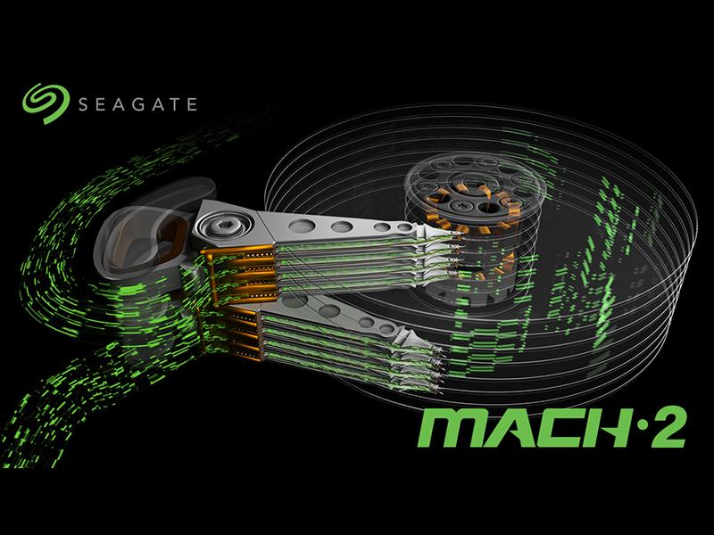 Seagate MACH.2 Multi Actuator