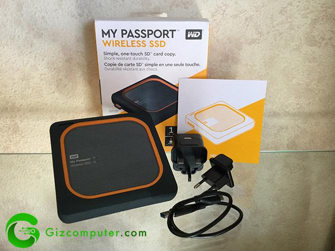 My Passport Wireless SSD WD