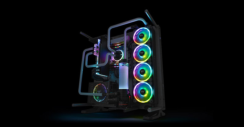 Riing Trio 14 LED RGB Radiator Fan TT Premium