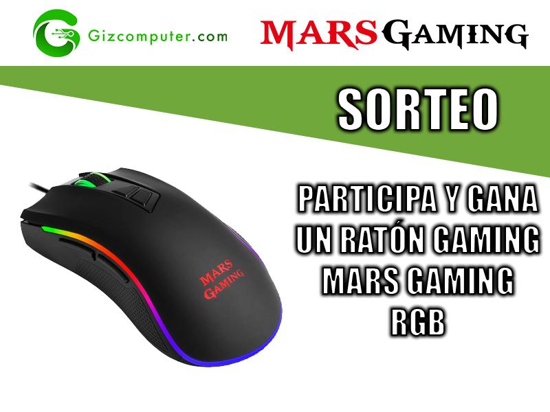 Sorteo Raton gaming Mars