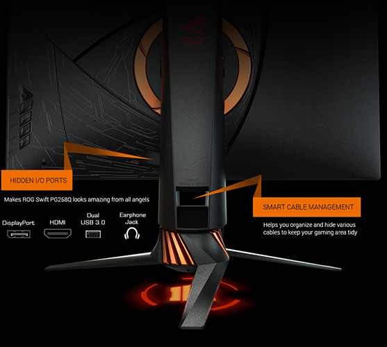 ROG Swift PG258Q Call of Duty Black Ops 4 Edition