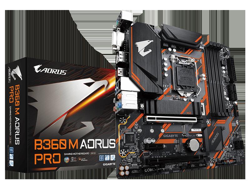 Gigabyte B360M Aorus Pro