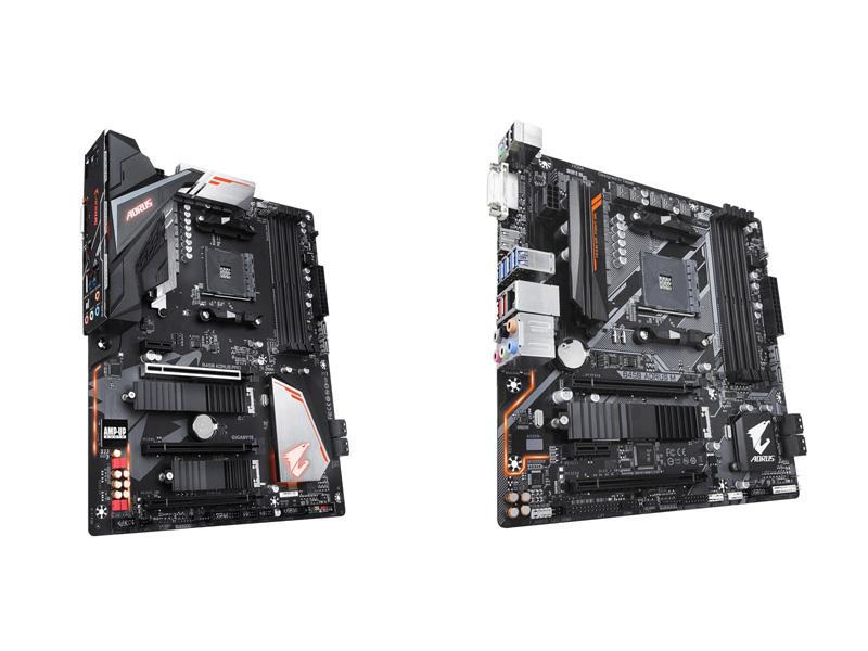 Gigabyte B450 AORUS Pro y Gigabyte B450 AORUS M