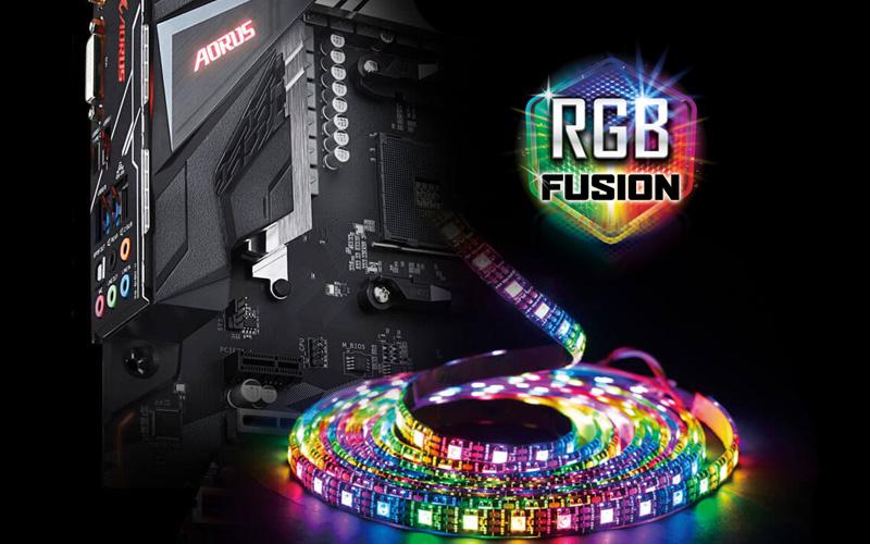 Gigabyte B450 AORUS RGB Fusion