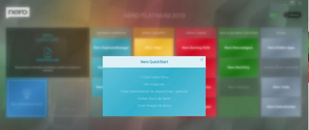 Nero Quick Start