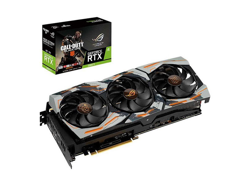 Asus ROG Strix GeForce RTX 2080 Ti OC Call of Duty Black Ops 4 Edition