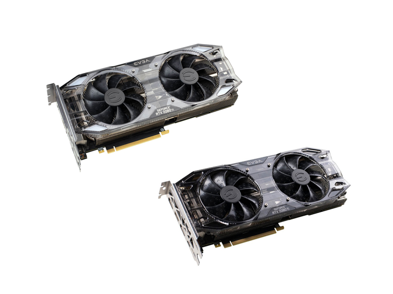 EVGA GeForce RTX 2080 Ti XC Ultra Gaming y EVGA GeForce RTX 2080 Ti Black Edition