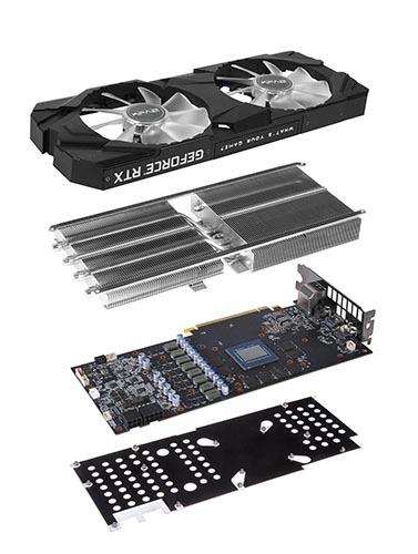 GeForce RTX 2070 EX y RTX 2070 EXOC de KFA2