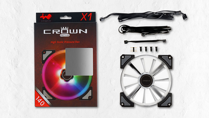 ventiladores CROWN de In Win