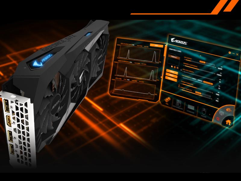 GeForce GTX 1660 Ti de GIGABYTE