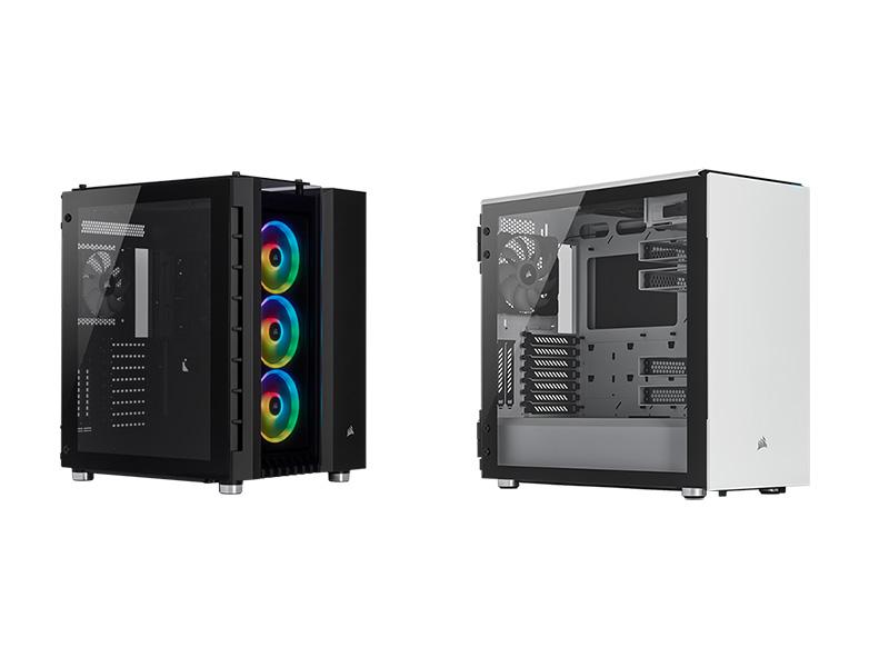 Corsair Crystal 680X RGB y Carbide 678C