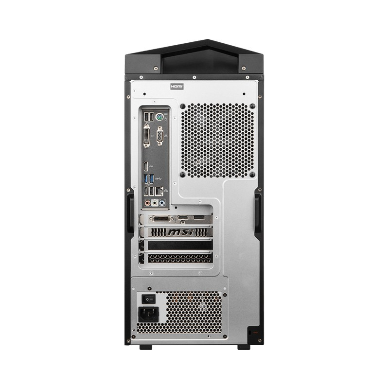 MSI Infinite 8RC-607EU, conexiones