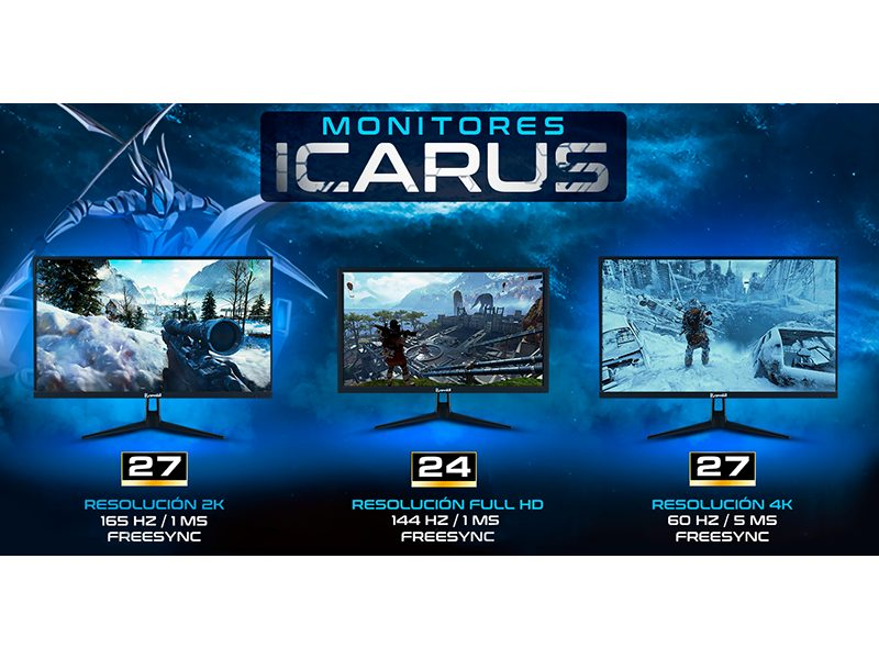 Monitores gaming Icarus