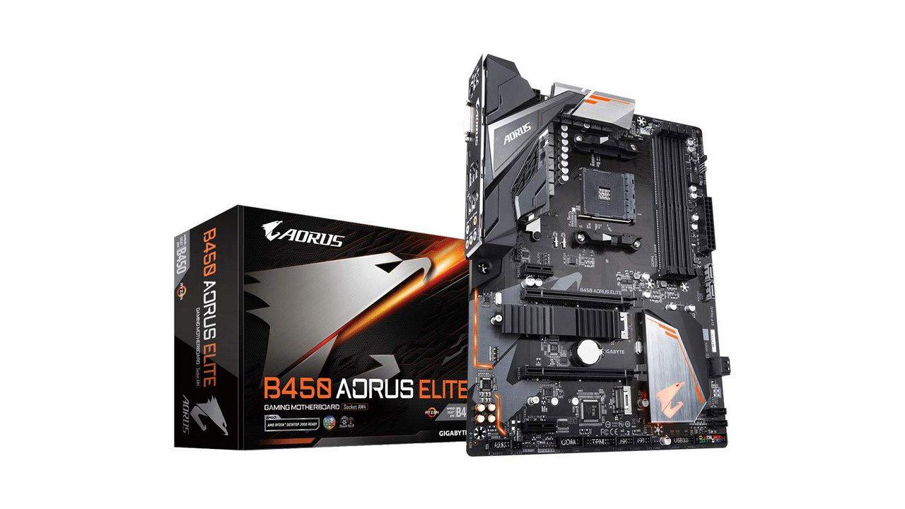 Gigabyte B450 Aorus Elite