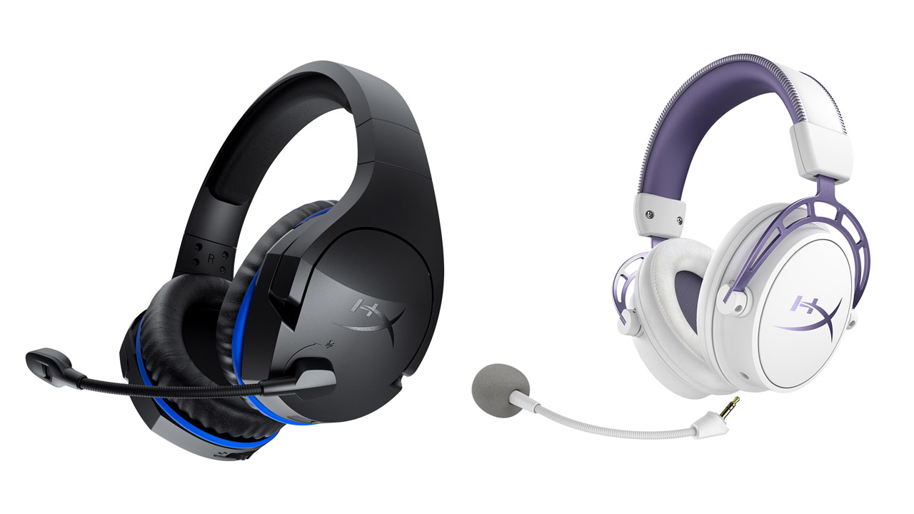 HyperX Cloud Stinger Wireless y Cloud Alpha Purple Edition