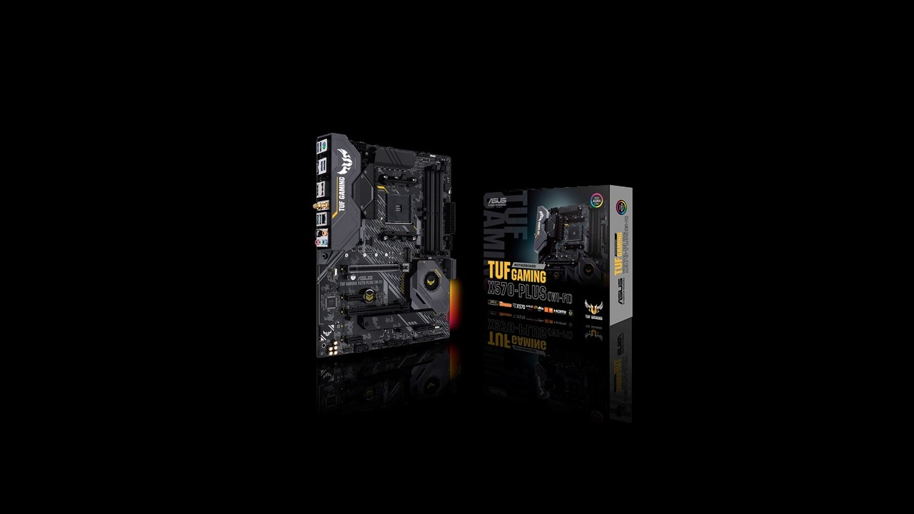 Asus TUF Gaming X570-PLUS WiFi y Asus TUF Gaming X570-PLUS