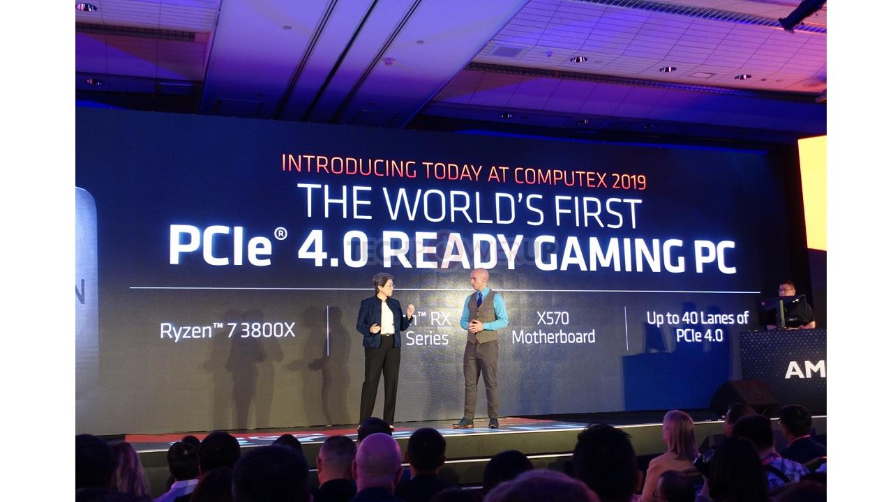 Computex AMD Ryzen 7 3700X, 3800X y Ryzen 9 3900X