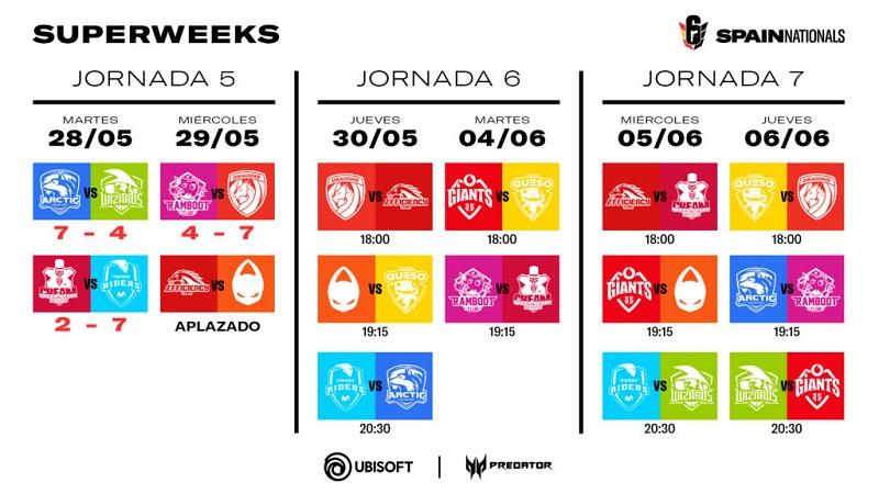 R6 Spain Nationals SUPERWEEK