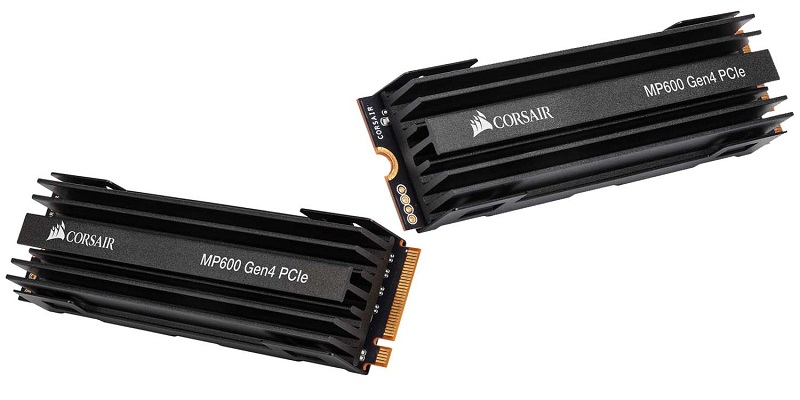 Corsair MP600 PCIe Gen 4 M.2 SSD