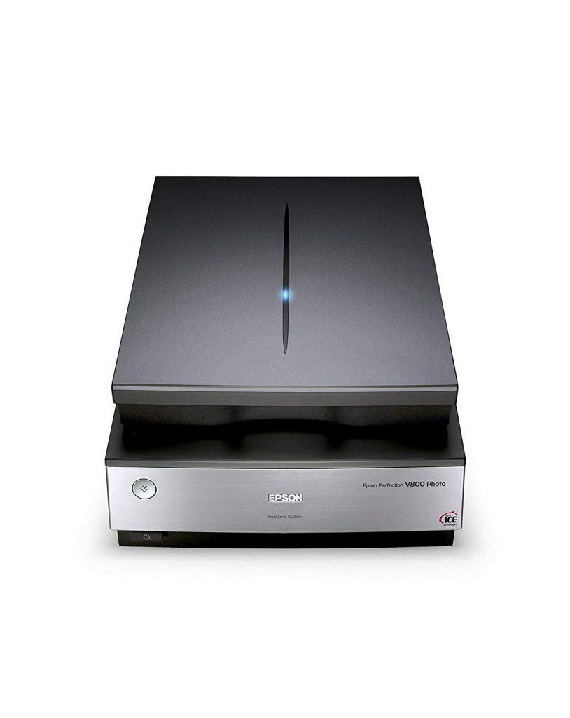 Epson V800, formato