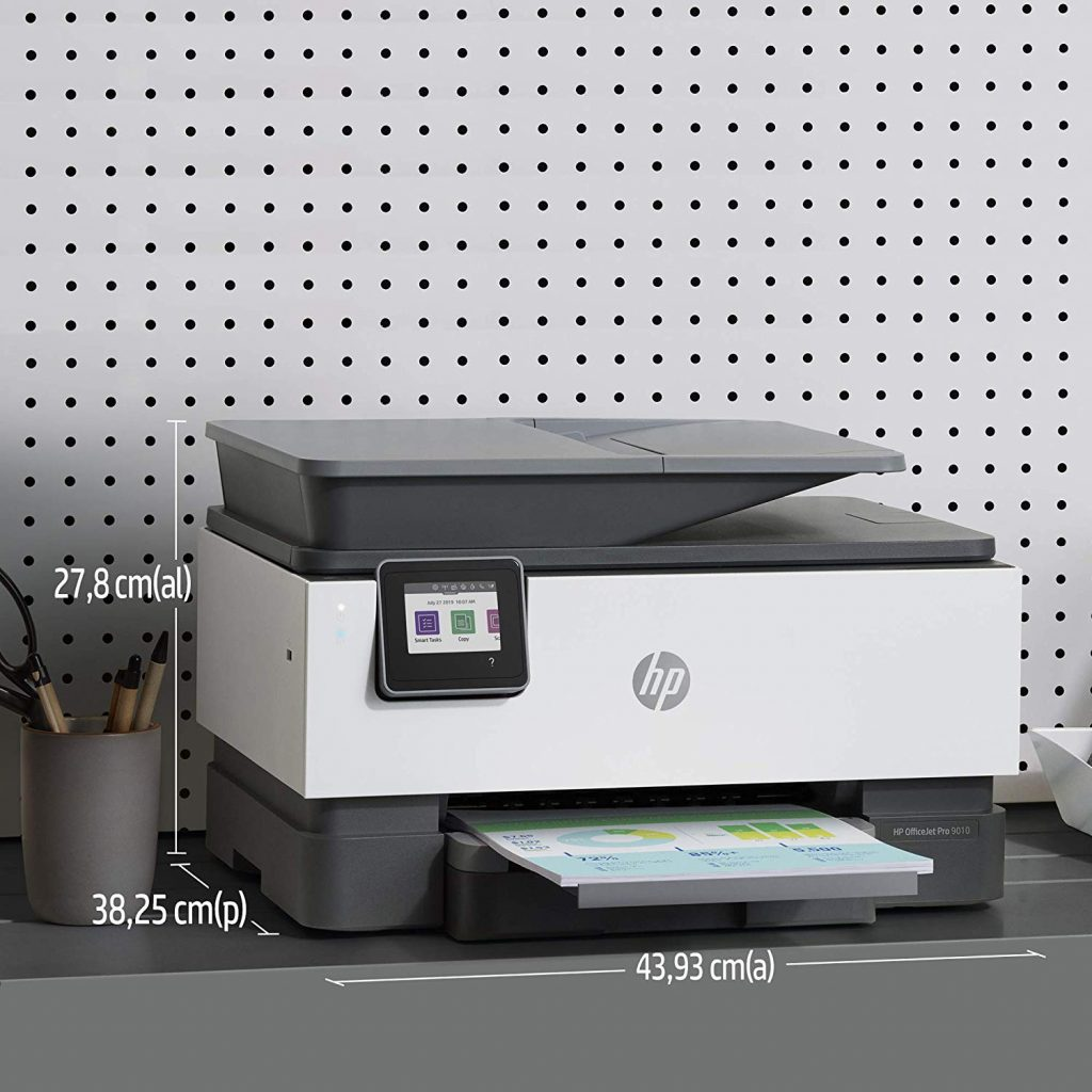 HP OfficeJet Pro 9010, dimensiones