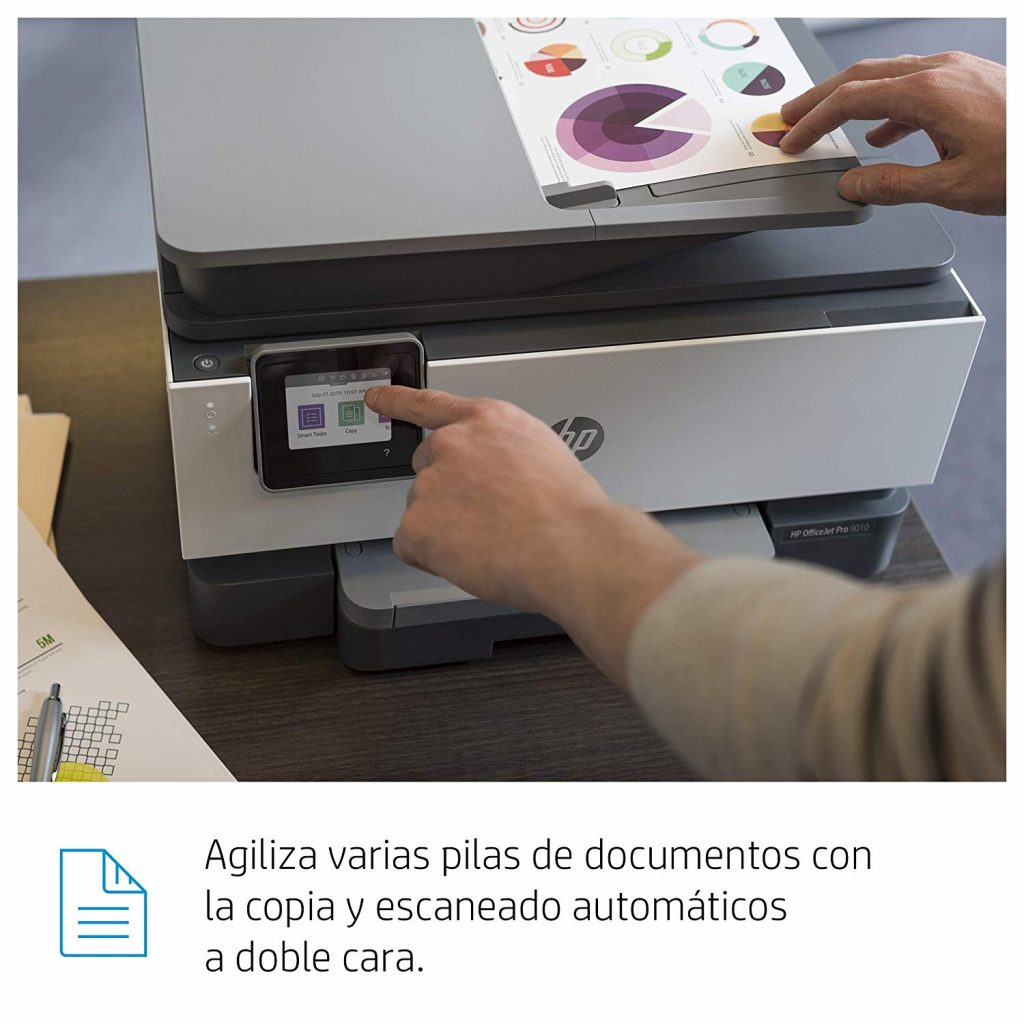 HP OfficeJet Pro 9010, doble cara