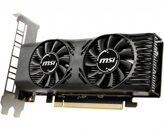 MSI GeForce GTX 1650 Low Profile Design
