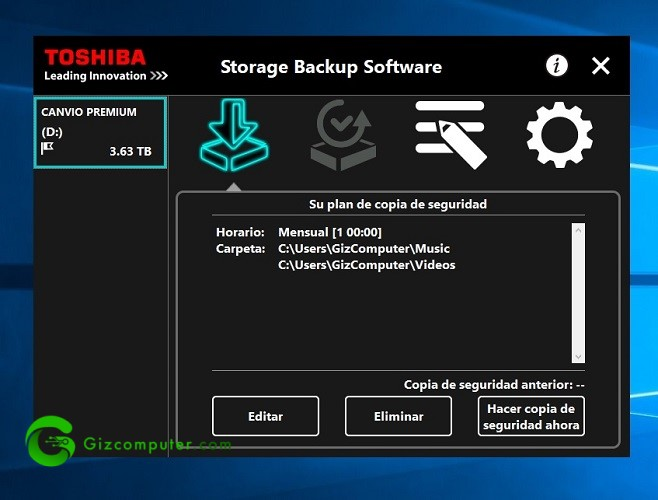Toshiba Canvio Premium