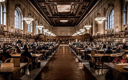 Fibra óptica en bibliotecas