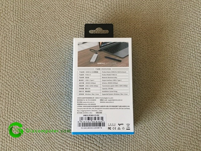 ORICO M.2 NVMe SSD
