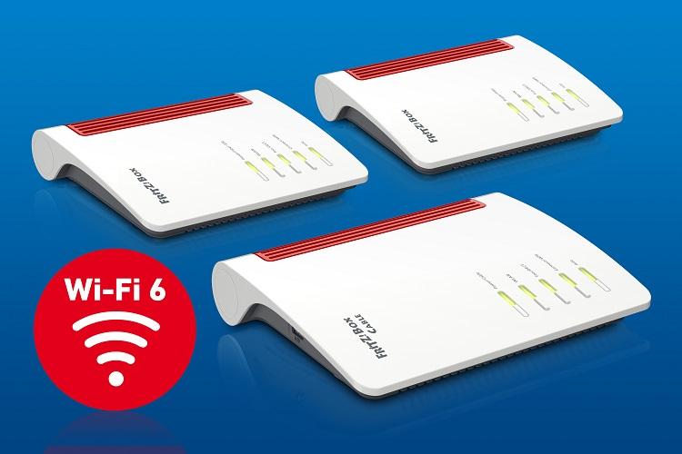 AVM FRITZBox Wi-Fi 6 FRITZ!Box 6850 5G