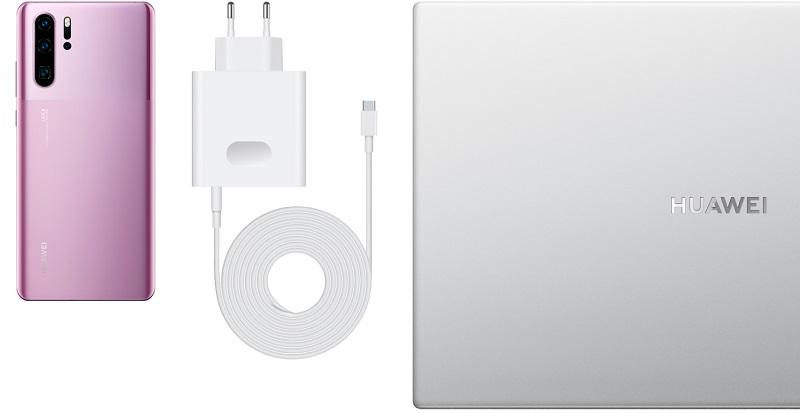 Huawei MateBook D14, cargador
