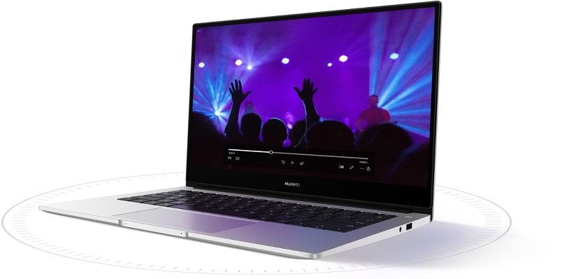 Huawei MateBook D14, pantalla