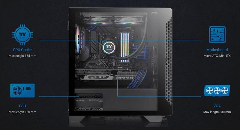 Thermaltake S100 TG Micro