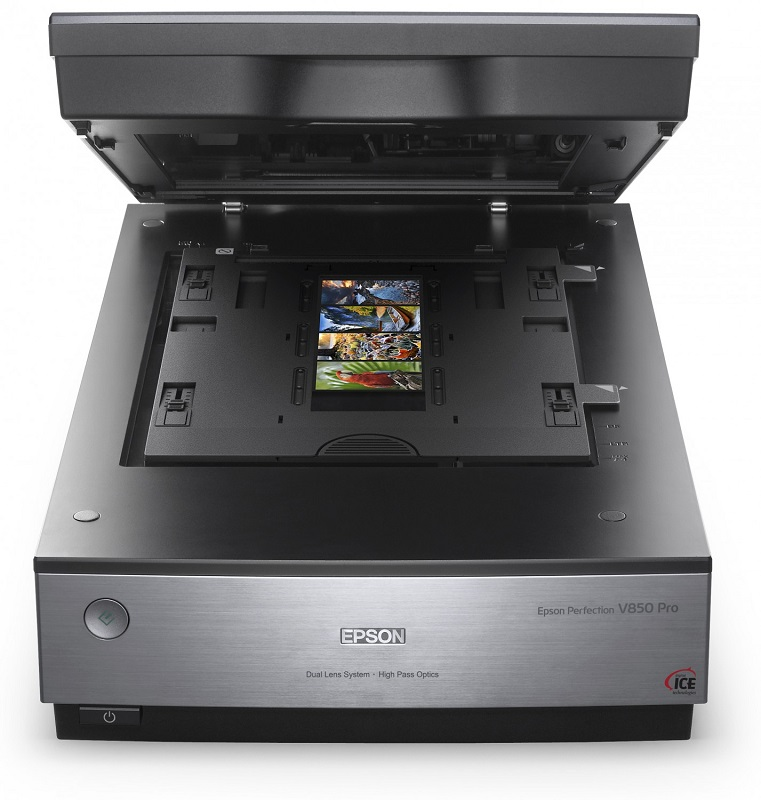 Epson Perfection V850 Pro, formatos