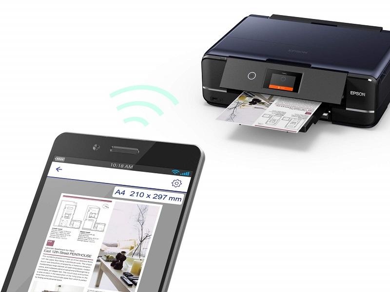 Epson XP-970, impresión móvil