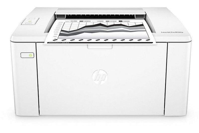 HP LaserJet Pro M102w, aspecto