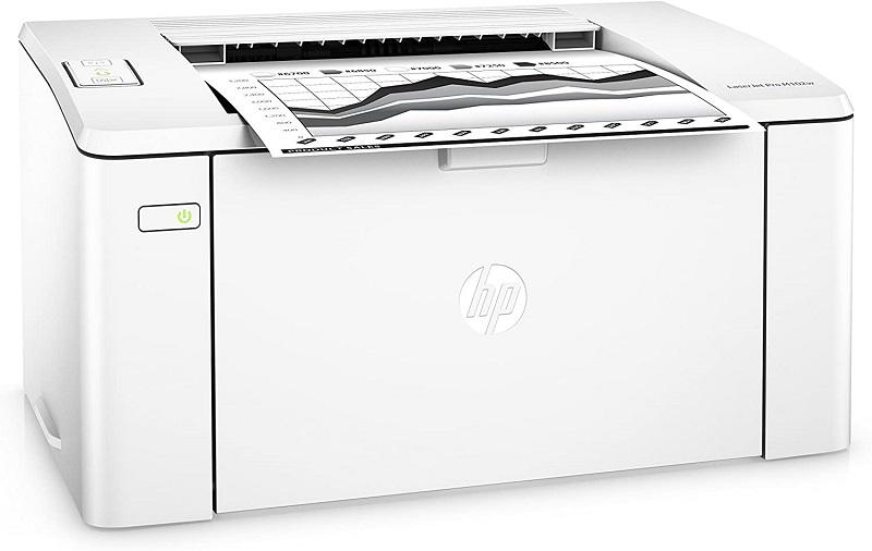 HP LaserJet Pro M102w, impresión