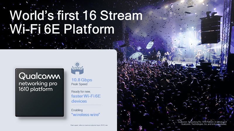 Qualcomm Networking Pro 1610 For Live Events and More
