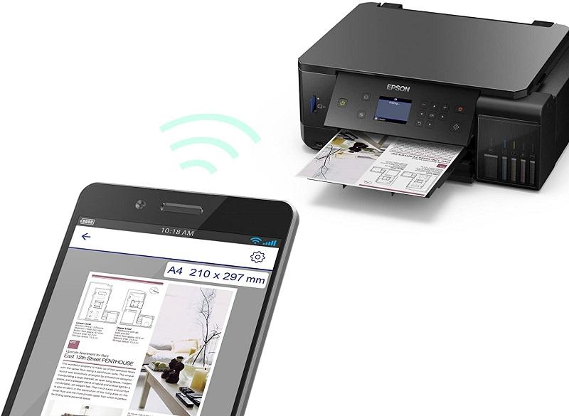 Epson EcoTank ET-7700, WiFi
