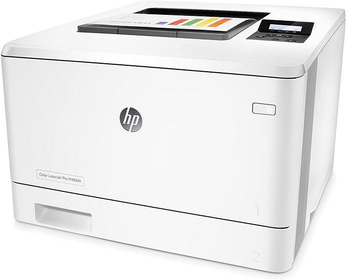 HP Color LaserJet Pro M452dn, cartuchos