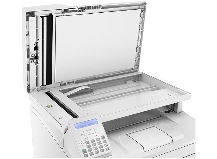 HP LaserJet Pro M227fdn, escáner