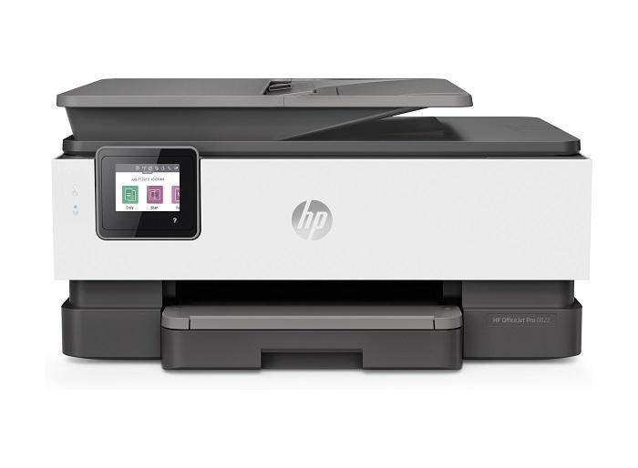 HP OfficeJet Pro 8022, pantalla