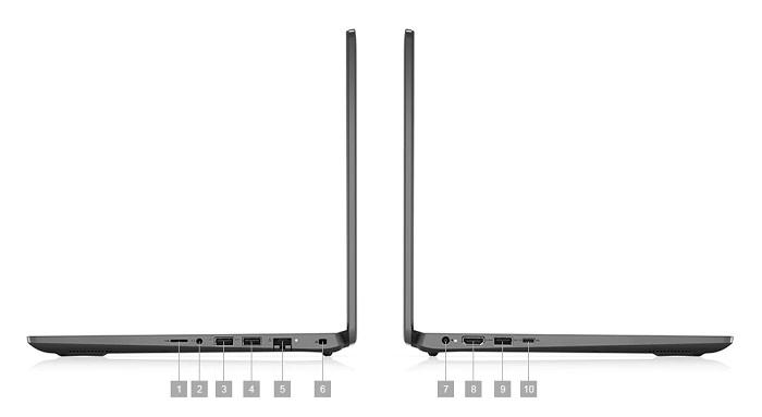 Dell Latitude 3410, conexiones