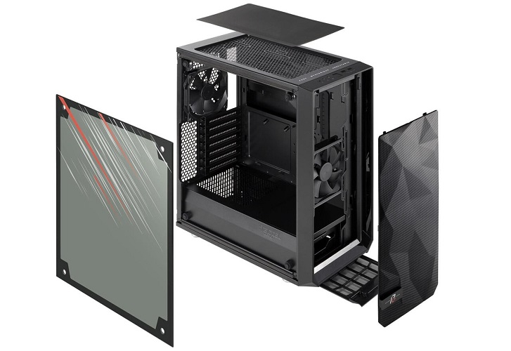 Fractal Design Meshify TG Phantom Gaming