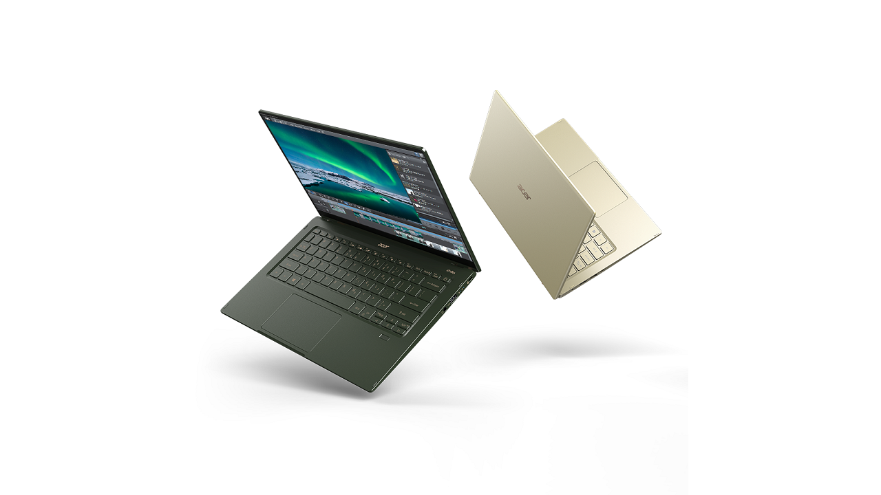 Acer Swift 3 y Swift 5 con CPUs Tiger Lake