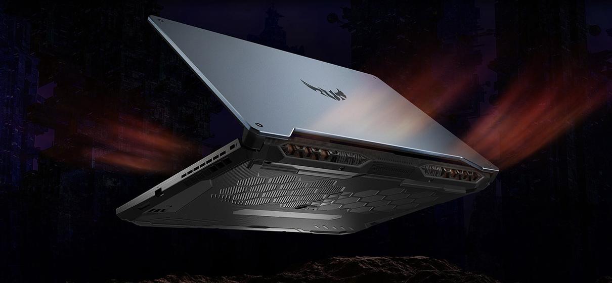 Asus TUF Gaming F15 FX506LH-BQ030 - Disipación de calor